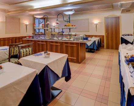 Discover the rich breakfast in the 4-star Best Western Hotel San Donato Bologna