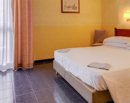 Check out the classic rooms of the 4 star Best Western Hotel San Donato Bologna