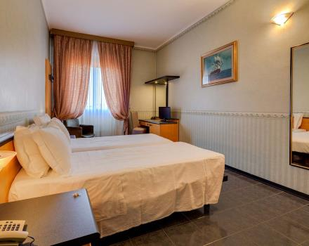 The economy rooms of the BW Hotel San Donato: relaxation and convenience in Bologna