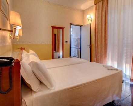 Comfort in the classic room of the BW Hotel San Donato in Bologna