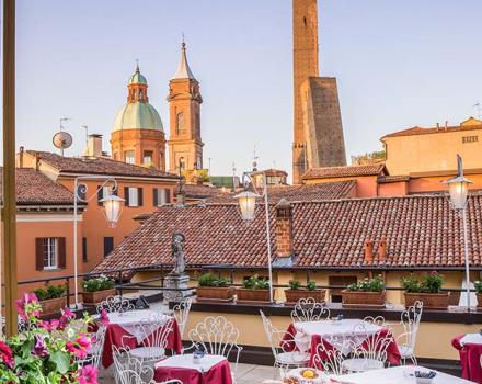 At BW Hotel San Donato, brekfast can be served also on the terrace