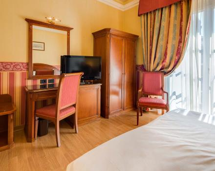 The deluxe rooms of the best Western Hotel San Donato Bologna