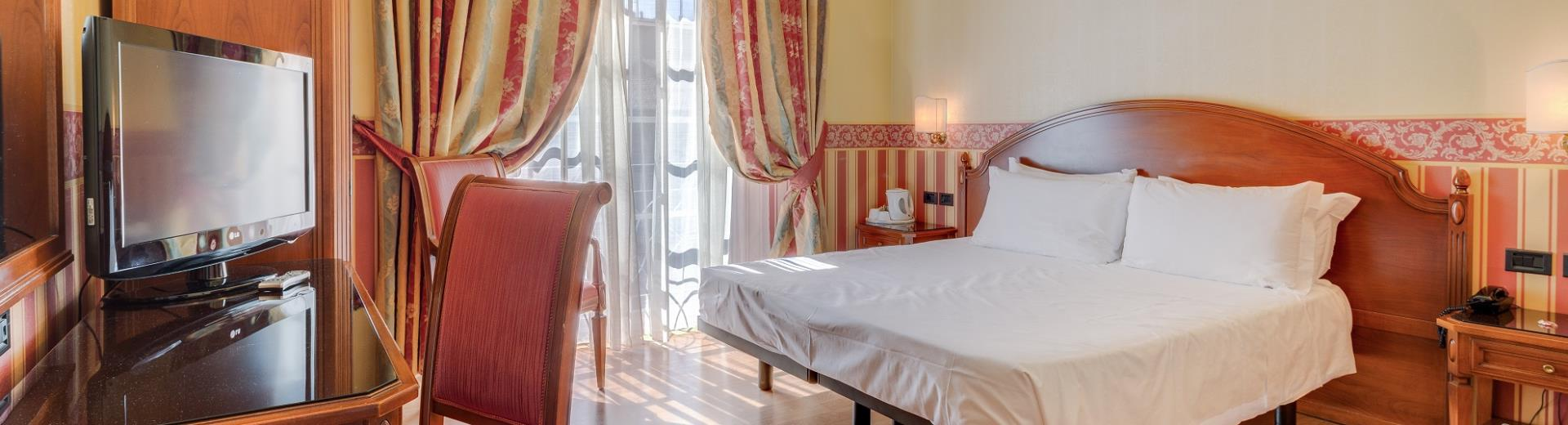 Deluxe rooms in the Centre of Bologna at the BW Hotel San Donato