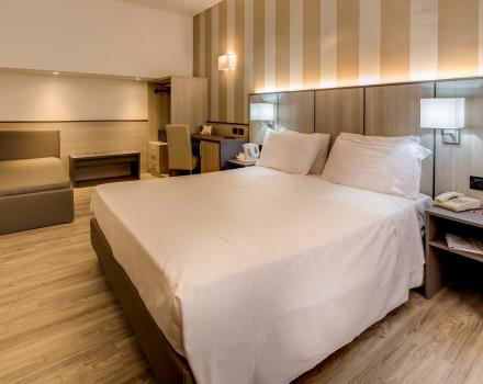 Stay in the family room x 3 of the BW Hotel San Donato in Bologna