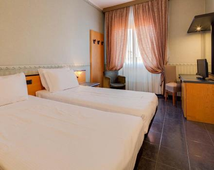The economy room of the BW Hotel San Donato in Bologna