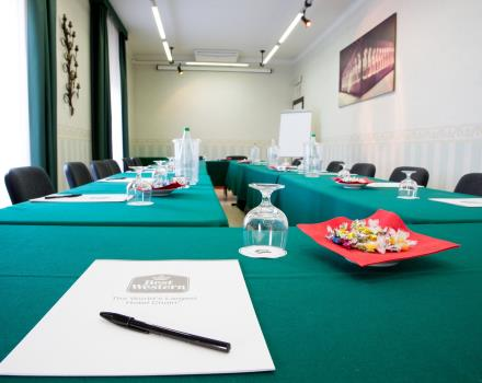 Meeting rooms of the Best Western Hotel San Donato Bologna