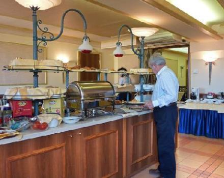breakfast in the morning buffet is served from 7 am to 10 am