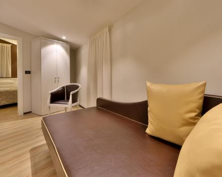Modern and spacious Family Room for 4 people at the Hotel San Donato