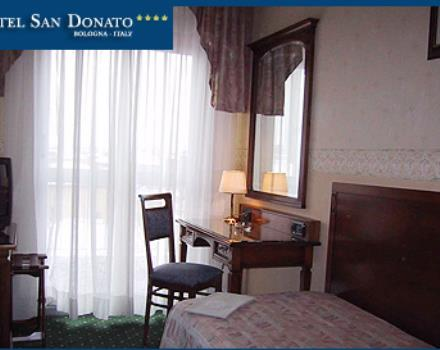 Discover the comfortable rooms at the Best Western Hotel San Donato in Bologna