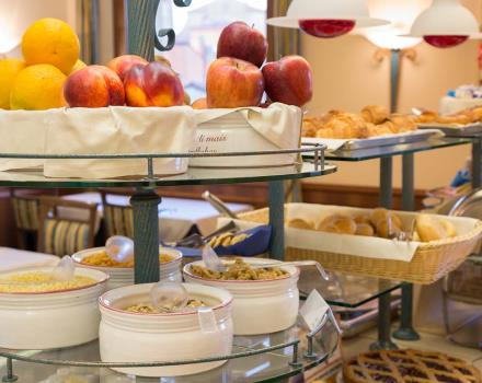 Tasty breakfast buffet at the BW Hotel San Donato in Bologna