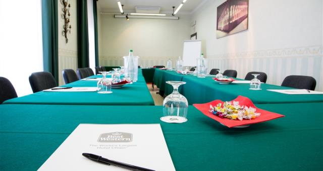 Discover the conference rooms in the Best Western Hotel San Donato and organize your events in Bologna